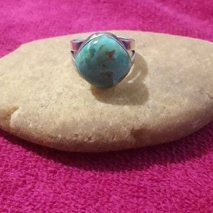 Jewelry - Sterling silver 925  ring turquoise color stone